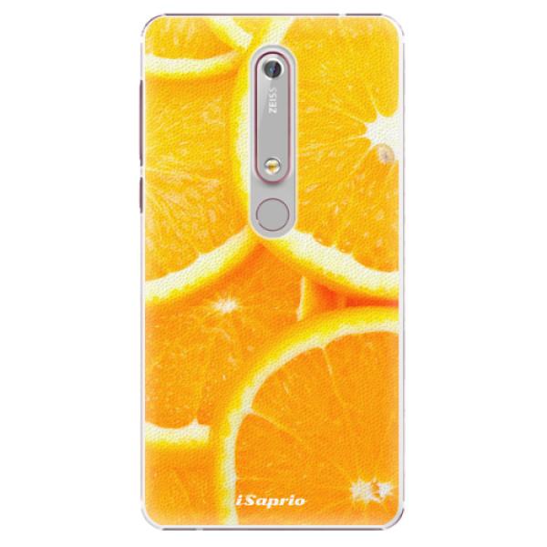 Plastové puzdro iSaprio - Orange 10 - Nokia 6.1