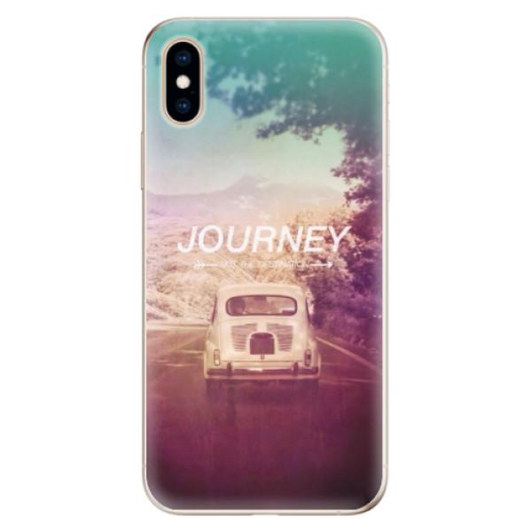 Odolné silikónové puzdro iSaprio - Journey - iPhone XS