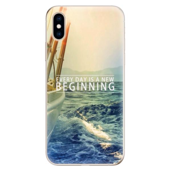 Odolné silikónové puzdro iSaprio - Beginning - iPhone XS