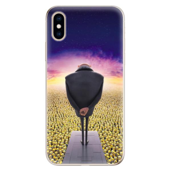 Odolné silikónové puzdro iSaprio - Gru - iPhone XS
