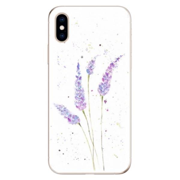 Odolné silikónové puzdro iSaprio - Lavender - iPhone XS