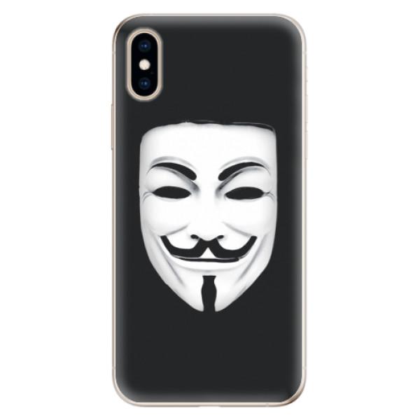 Odolné silikónové puzdro iSaprio - Vendeta - iPhone XS