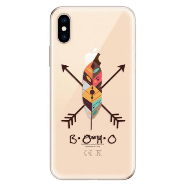 Odolné silikónové puzdro iSaprio - BOHO - iPhone XS