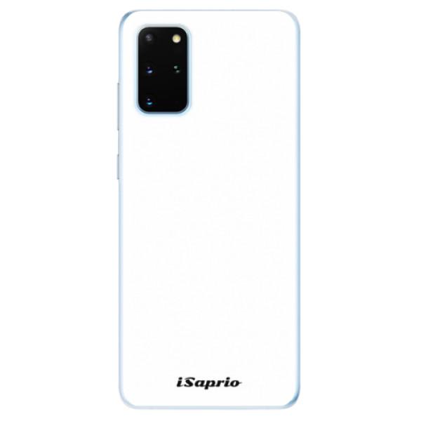 Odolné silikónové puzdro iSaprio - 4Pure - bílý - Samsung Galaxy S20+