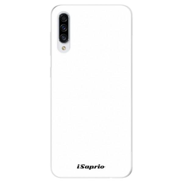 Odolné silikónové puzdro iSaprio - 4Pure - bílý - Samsung Galaxy A30s