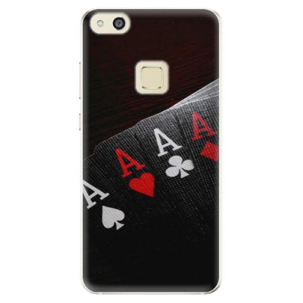 Odolné silikónové puzdro iSaprio - Poker - Huawei P10 Lite