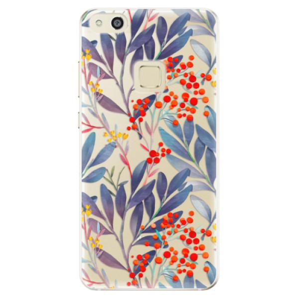 Odolné silikónové puzdro iSaprio - Rowanberry - Huawei P10 Lite