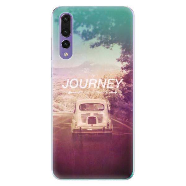 Odolné silikónové puzdro iSaprio - Journey - Huawei P20 Pro