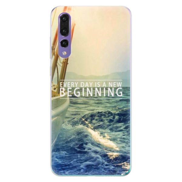 Odolné silikónové puzdro iSaprio - Beginning - Huawei P20 Pro