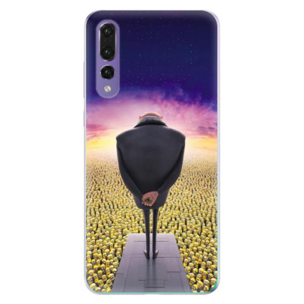 Odolné silikónové puzdro iSaprio - Gru - Huawei P20 Pro