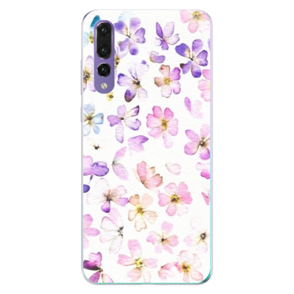 Odolné silikónové puzdro iSaprio - Wildflowers - Huawei P20 Pro