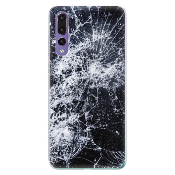 Odolné silikónové puzdro iSaprio - Cracked - Huawei P20 Pro