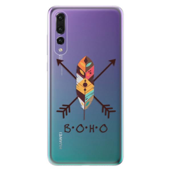 Odolné silikónové puzdro iSaprio - BOHO - Huawei P20 Pro