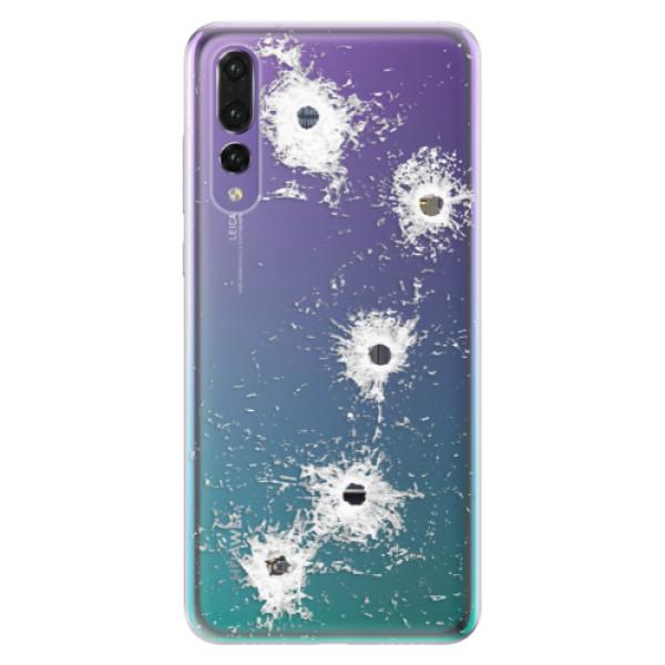 Odolné silikónové puzdro iSaprio - Gunshots - Huawei P20 Pro