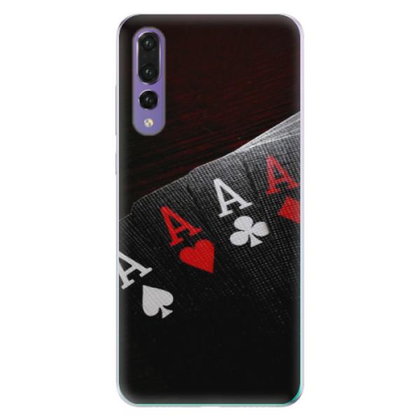 Odolné silikónové puzdro iSaprio - Poker - Huawei P20 Pro