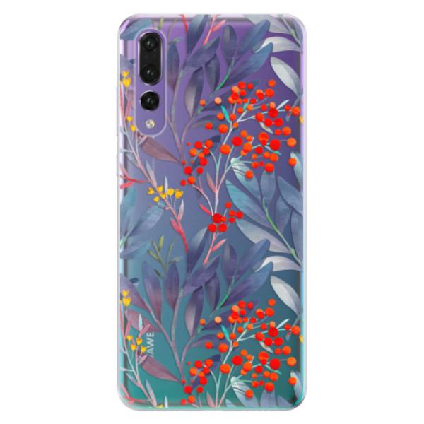 Odolné silikónové puzdro iSaprio - Rowanberry - Huawei P20 Pro