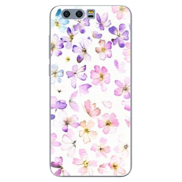 Odolné silikónové puzdro iSaprio - Wildflowers - Huawei Honor 9