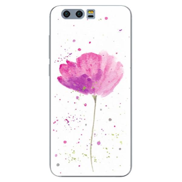 Odolné silikónové puzdro iSaprio - Poppies - Huawei Honor 9