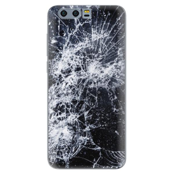 Odolné silikónové puzdro iSaprio - Cracked - Huawei Honor 9