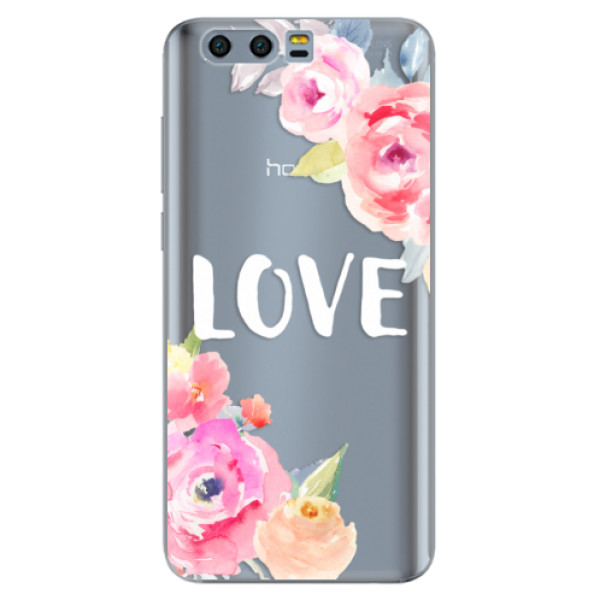 Odolné silikónové puzdro iSaprio - Love - Huawei Honor 9