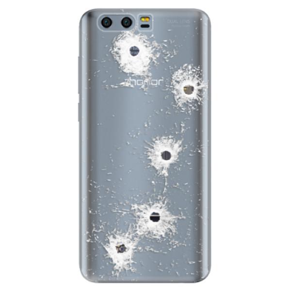 Odolné silikónové puzdro iSaprio - Gunshots - Huawei Honor 9