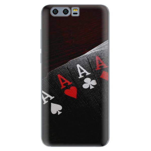 Odolné silikónové puzdro iSaprio - Poker - Huawei Honor 9