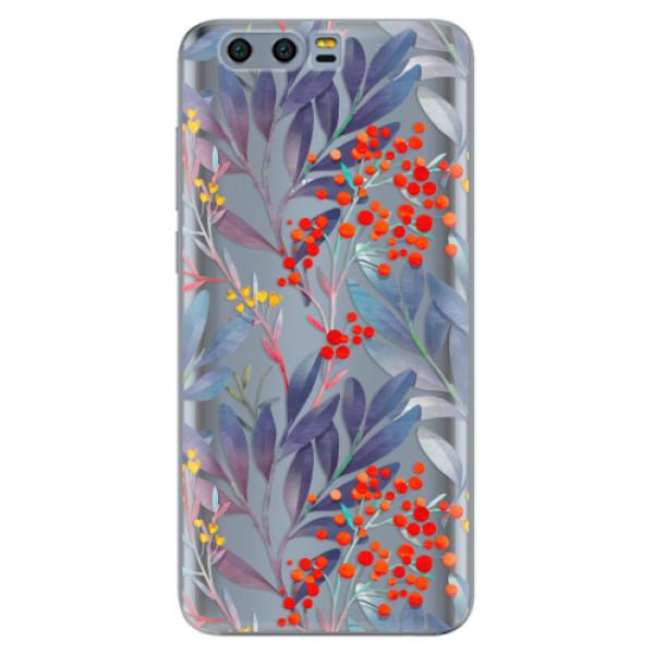 Odolné silikónové puzdro iSaprio - Rowanberry - Huawei Honor 9