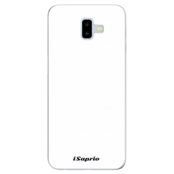 Odolné silikónové puzdro iSaprio - 4Pure - bílý - Samsung Galaxy J6+