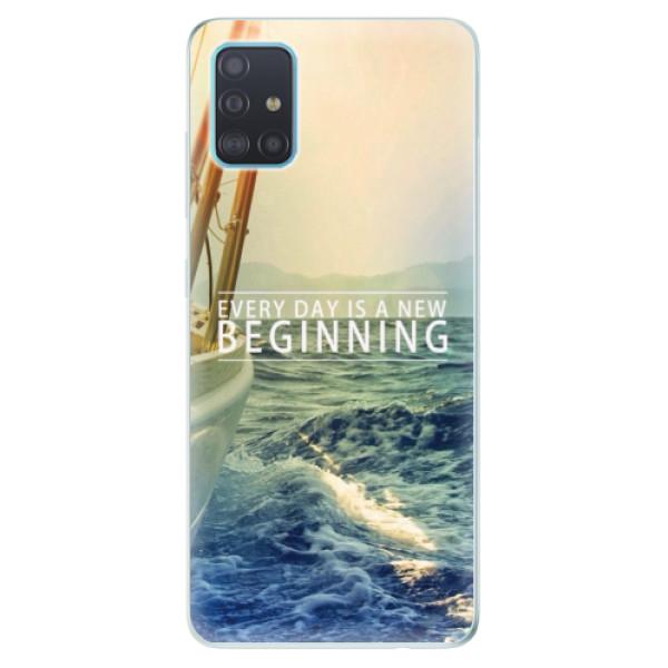 Odolné silikónové puzdro iSaprio - Beginning - Samsung Galaxy A51