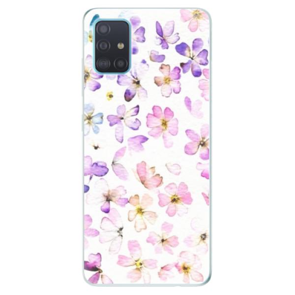 Odolné silikónové puzdro iSaprio - Wildflowers - Samsung Galaxy A51