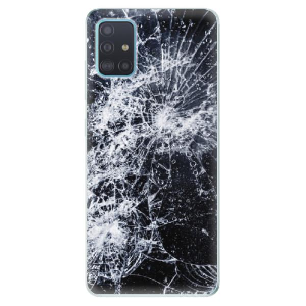 Odolné silikónové puzdro iSaprio - Cracked - Samsung Galaxy A51