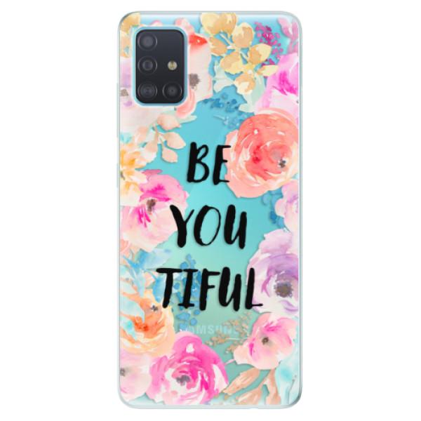 Odolné silikónové puzdro iSaprio - BeYouTiful - Samsung Galaxy A51