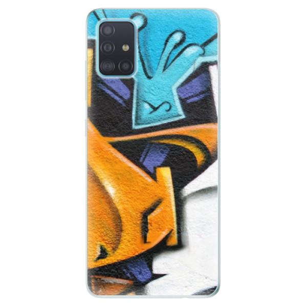 Odolné silikónové puzdro iSaprio - Graffiti - Samsung Galaxy A51