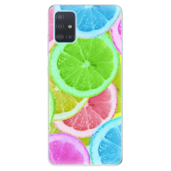 Odolné silikónové puzdro iSaprio - Lemon 02 - Samsung Galaxy A51