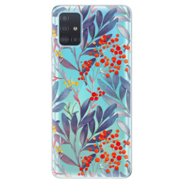 Odolné silikónové puzdro iSaprio - Rowanberry - Samsung Galaxy A51