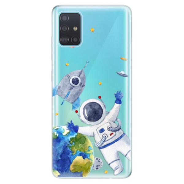 Odolné silikónové puzdro iSaprio - Space 05 - Samsung Galaxy A51