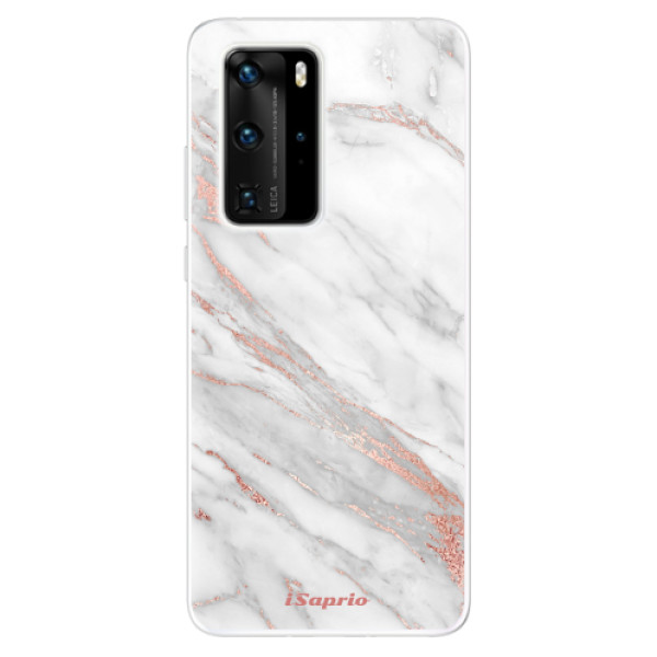 Odolné silikónové puzdro iSaprio - RoseGold 11 - Huawei P40 Pro