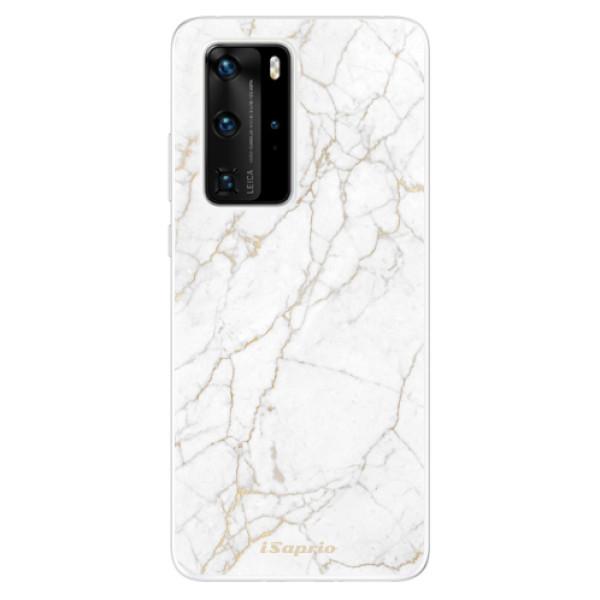 Odolné silikónové puzdro iSaprio - GoldMarble 13 - Huawei P40 Pro