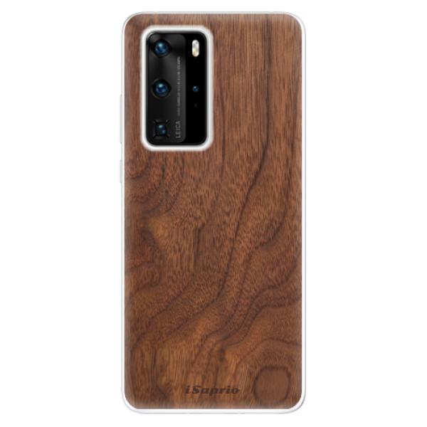 Odolné silikónové puzdro iSaprio - Wood 10 - Huawei P40 Pro