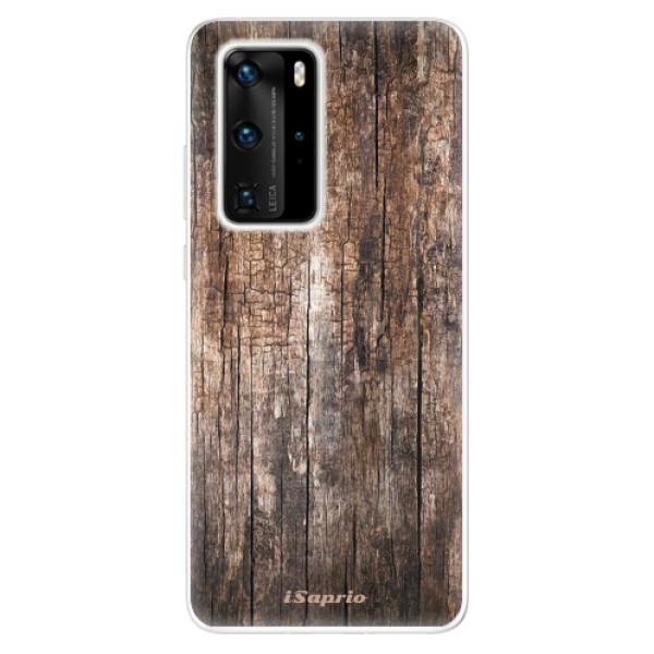 Odolné silikónové puzdro iSaprio - Wood 11 - Huawei P40 Pro