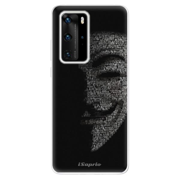Odolné silikónové puzdro iSaprio - Vendeta 10 - Huawei P40 Pro