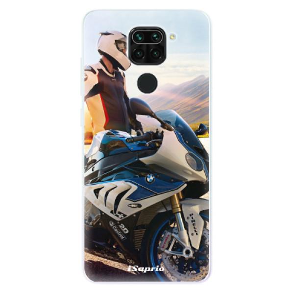 Odolné silikónové puzdro iSaprio - Motorcycle 10 - Xiaomi Redmi Note 9