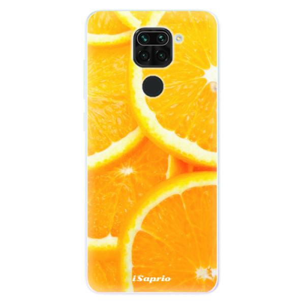Odolné silikónové puzdro iSaprio - Orange 10 - Xiaomi Redmi Note 9