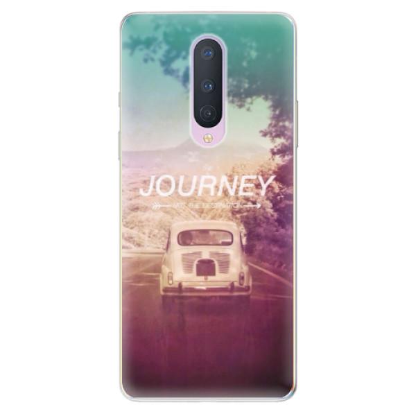 Odolné silikónové puzdro iSaprio - Journey - OnePlus 8