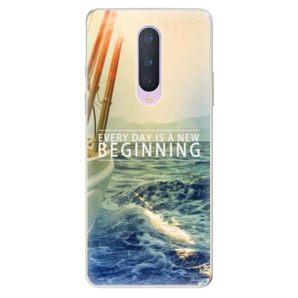Odolné silikónové puzdro iSaprio - Beginning - OnePlus 8
