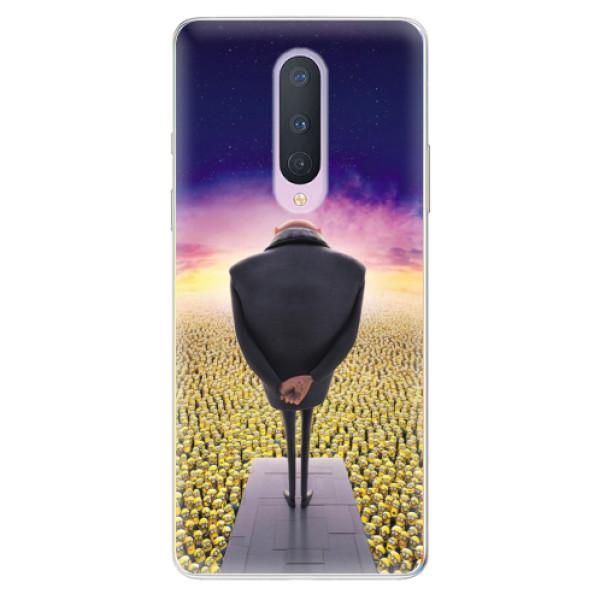 Odolné silikónové puzdro iSaprio - Gru - OnePlus 8