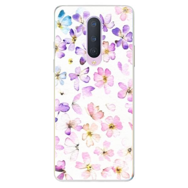 Odolné silikónové puzdro iSaprio - Wildflowers - OnePlus 8