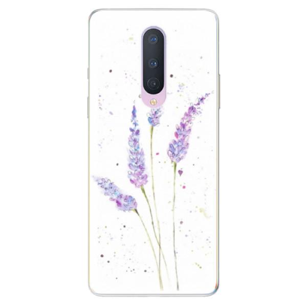 Odolné silikónové puzdro iSaprio - Lavender - OnePlus 8