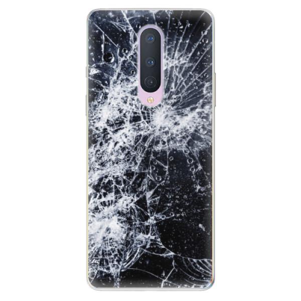 Odolné silikónové puzdro iSaprio - Cracked - OnePlus 8