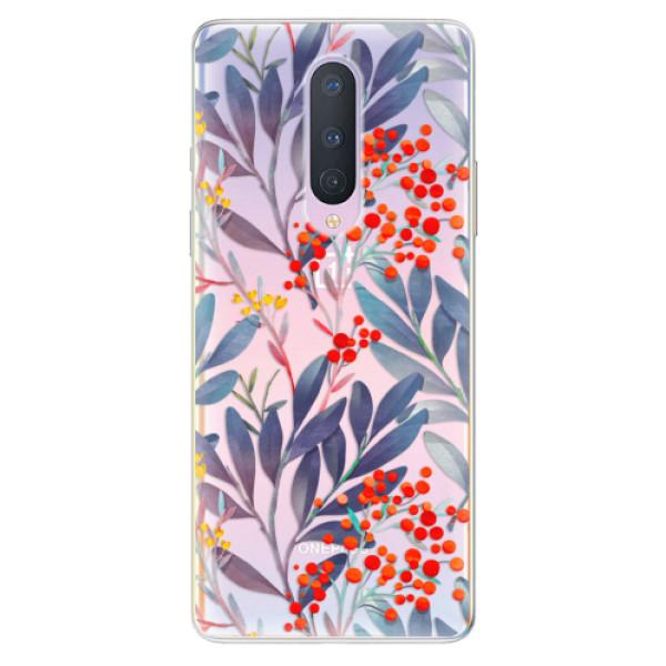 Odolné silikónové puzdro iSaprio - Rowanberry - OnePlus 8